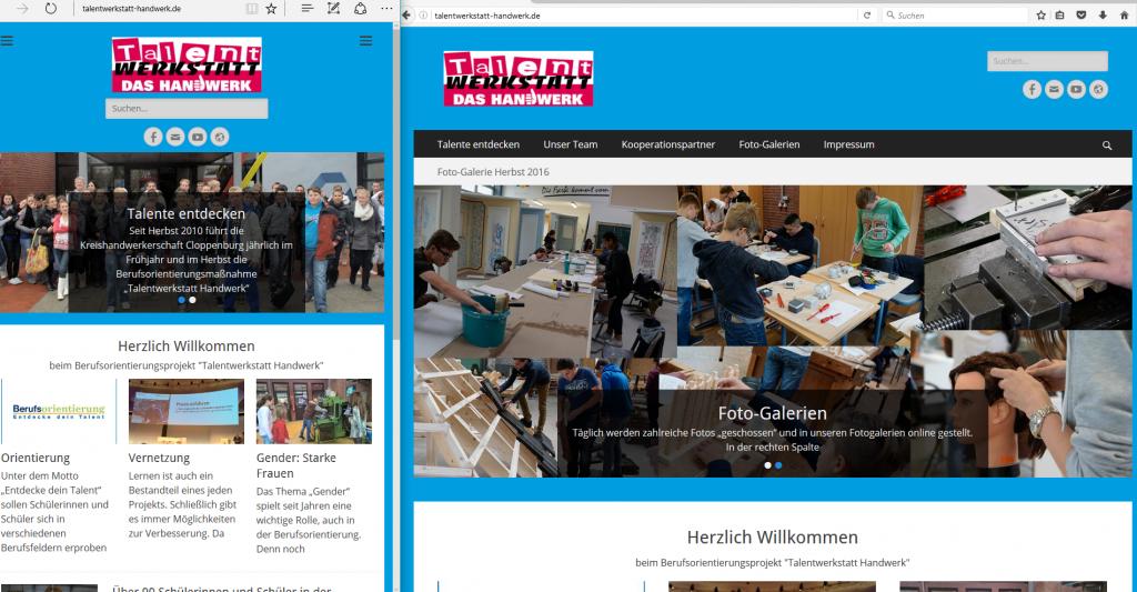 Auf Smartphone, Tablet oder PC nutzbar: unser neues Web-Design